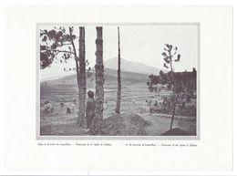 INDOCHINE Vietnam Lang Bian Région De Dankia 17 X 12 Cm Provenant D'un Livre De 1919. Bien à TB Dos Blanc - Vieux Papiers