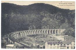 Cpa Gorges De L'Allier - Le Viaduc De Chapeauroux - France