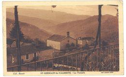 Cpa St Germain De Calberte - Le Temple - France