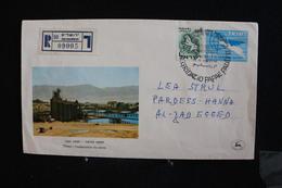 Tu-34 / Marcophilie (Lettres) - Enveloppe, Lettre - Jerusalem Timna - L'exploitation Du Cuivre - 1964 - Storia Postale