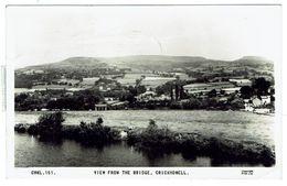 CRICKHOWELL View From The Bridge - Circulée 1967- Bon état - Breconshire