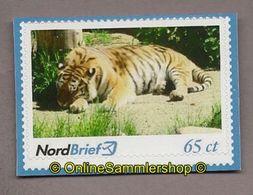 Privatpost - Nordbrief -   Tiger (Panthera Tigris) - BRD