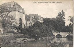 CHAMPAGNE -FONTAINE. CHATEAU DE CLAUZUROUX - Otros Municipios