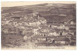 Cpa Le Bleymard - Vue Générale Prise De Sénias - Le Bleymard