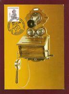 Luxemburg  1991  Mi.Nr. 1281 Do + 1015 , Gegenstände Aus Dem Postmuseum - Maximum Card - SStempel 23.11.1995 - Maximum Cards