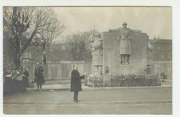 88 EPINAL Carte Photo D'une Céremonie Au Monument Aux Morts - Epinal