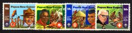 T1863 - PAPUA NUOVA GUINEA 1982 , Serie Scout  N. 426/429 Used - Papua Nuova Guinea