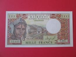 Djibouti 1000 Francs 1991 Banknote UNC - Djibouti