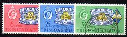 T1853 - TRINIDAD TOBAGO 1964 , Serie Girl/scout  N. 200/202 Used - Trindad & Tobago (1962-...)