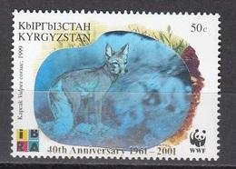 Kyrgystan - WWF / FOX 2001 MNH - Kyrgyzstan