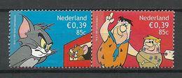 NETHERLANDS 2001 Michel 1909 - 1910 Comics Fred Flintstone Tom & Jerry (*) Mint No Gum - 1980-... (Beatrix)