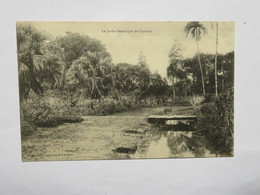 C.P.A. GUYANE : CAYENNE, Le Jardin Botanique - Cayenne