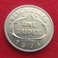 Seychelles 1  Rupee 1974 - Seychelles