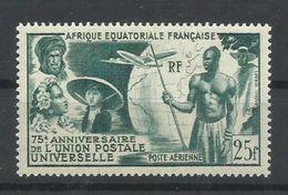 AFRICA ECUATORIAL    YVERT AEREO   54   MH  * - Nuevos