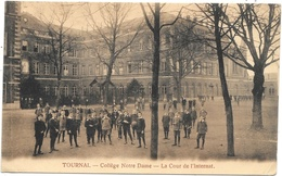 Tournai NA19: Collège Notre Dame. La Cour De L'internat 1925 - Tournai