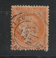 """UNIQUE COMBINAISON """" L'Sée, Fond Ligné, Perforations Incomplètes SEE"""" Sur Le 48d 4 Retouché Signé Calves Cote Inconnue, - 1870 Siège De Paris"""