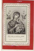 (IMAGE RELIGIEUSE)     (canivet Mécanique)    Notre Dame Du Perpetuel Secours - Devotieprenten