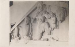 Musée - Archéologie - Carte-Photo - Statue Déesse - Lion - A Situer - Museum