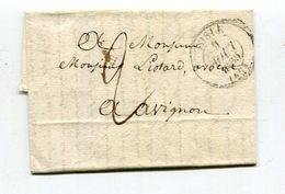 Frankreich / 1836 Ff. / 2 Vorphila-/Altbfe. (02907) - 1801-1848: Précurseurs XIX