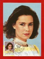 Luxemburg  1988 Mi.Nr. 1196 , Le Grande-Duchesse Heritiere Maria Teresa - Maximum Card - Jour D'Emission 29.3.1988 - Cartes Maximum