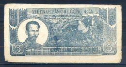 516-Vietnam, Billet De 5 Dong 1948 MH - Vietnam