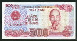 493-Vietnam, Billet De 500 Dong 1988 AW305 Neuf - Viêt-Nam