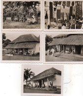 CAMEROUN - 5 Photos- FOUMBAN - Musée Bamoum - Artisanat Bamoum - (102364) - Lieux