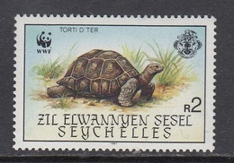 Seychelles / Sesel - WWF / TURTLE 1987 MNH - Seychelles (1976-...)