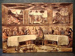 (FG.R72) CITTà DEL VATICANO - CAPPELLA SISTINA - L'ISTITUZIONE DELLA S. COMUNIONE (C.ROSSELLI) ROMA - Vaticano
