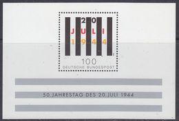Germany 1994 50J. Des 20. Juli 1944 M/s ** Mnh (GERM 204) - [7] West-Duitsland