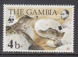 Gambia - WWF / CROCODILE 1984 MNH - Gambia (1965-...)