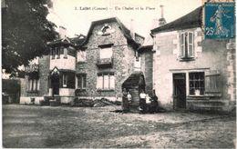 LAFAT ... UN CHALET ET LA PLACE - France