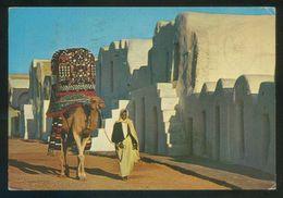 Túnez. Ksar Debbab. *Village Turistique* Ed. Kahia Nº 1587. Circulada 1979. - Túnez