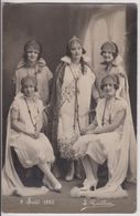 LOT DE 7 CARTES PHOTOS : REINES D'OYONNAX DE 1925 à 1954 - FETE DE BIENFAISANCE - STUDIO GAUTHIER - 14 SCANS - - Postcards