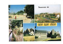 Cpm - 14 - Souvenir De VER SUR MER - Multivues - Golf Miniature TENNIS - Sonstige Gemeinden