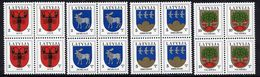 LATVIA 2005 Arms Definitives With Year Date 2005 In Blocks Of 4 MNH / **. - Latvia