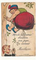 03 // MONTLUCON   Carte A Systeme,   MONTE LA DESSUS, Soulève Ma Jupe, Tu Verras..... - Montlucon