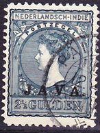 2017-0188 Nederlands Indie 1908, JAVA Overprint Mi 78 Used O - Indes Néerlandaises