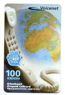 USED Estonia Phonecard - Estonia