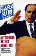 POLITIQUE  L 2  /  MITTERAND  / HARA KIRI  1983   CPM / CPSM  10X15 - Evènements