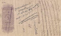 INDIA=1913   12  ANNAS  BANK Of BOMBAY  XFINE - India