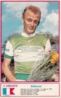 Sport Cyclisme J. GRACZYK Coureur Cycliste Cycling Radsport Photo Miroir-Sprint - Cycling