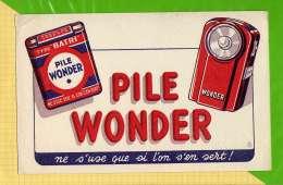 BUVARD & Blotting Paper  : Pile WONDER - Piles