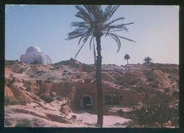 Túnez. Matmata. *Habitation Troglodyte* Ed. Tanit Nº 702. Circulada 1988. - Túnez