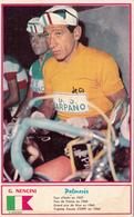 Sport Cyclisme G. NENCINI Coureur Cycliste Cycling Radsport Photo Miroir-Sprint - Cycling