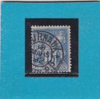 SAGE N°90  CAD  JOURNAUX / PP/DIJON  18 MARS 1892   - REF 14017 - 1876-1898 Sage (Type II)