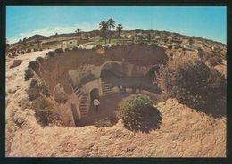 Túnez. Matmata. *Habitation Troglodyte* Ed. Kahia Nº 341. Nueva. - Túnez