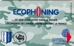 FRANCE - Ecophoning KFOR - Salamandre Logo (green) Prepaid Card , 20.000 Tirage, Used - Frankreich