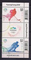 ESLOVENIA 2018 - WINTER OLYMPICS OF PYEONGCHANG - STRIP - Slovénie
