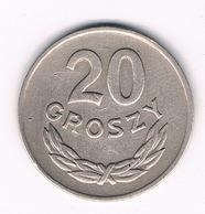20 GROSZY 1949 POLEN /710G/ - Pologne